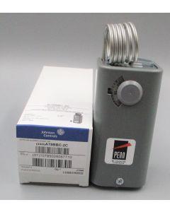 COILED BULB TEMP CONTROL; -30/100F; DIFF 3- 12 ADJ; SPDT; NEMA 1; 1HP; RANGE SCALE VISIBLE 3